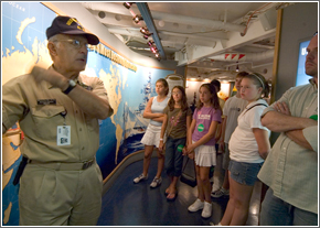 School Tour on Battleship New Jersey