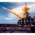 Archive photo of a tomahawk missile launch