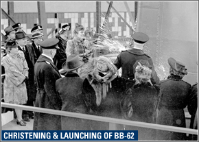 75th Anniversary of the Launch of the USS New Jersey Ceremony @ Battleship New Jersey  | Camden | New Jersey | United States