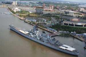 Flying Fish Beer Garden at the Battleship @ Battleship New Jersey  | Camden | New Jersey | United States