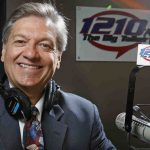 Meet the Big Talker's Dom Giordano, Broadcasting on the Battleship Pier from 10am to Noon today.