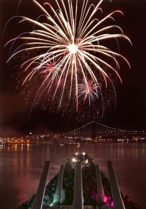 4th of July Fireworks Show from the Battleship @ Battleship New Jersey | Camden | New Jersey | United States