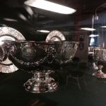 Check Out the USS New Jersey Silver, Now on Display at the Battleship