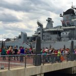 Elementary School Students Invade the Battleship!