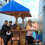 Enjoy a Cold Beer or Glass of Wine at the Tiki Bar Today !