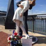 The Battleship Salutes Greta Zimmer Friedman, Nurse from the WWII Times Square Kiss