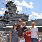 Take Home a Souvenir Photo at the Battleship on Weekends!