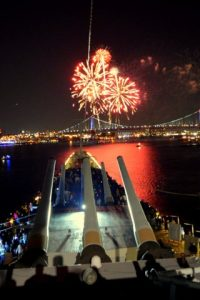 Watch the Fireworks Aboard the Battleship, Tuesday, July 4th @ Battleship New Jersey  | Camden | New Jersey | United States