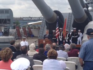 Commissioning Anniversary Ceremony, May 23 @ Battleship New Jersey  | Camden | New Jersey | United States