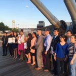 Battleship Salutes Camden Scholarship Winner with Awards Dinner