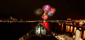 July 1st Fireworks Show @ Battleship New Jersey