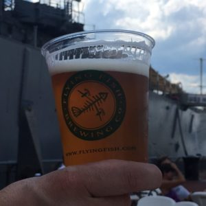 Flying Fish Beer Garden at the Battleship, Saturday, July 15 @ Battleship New Jersey  | Camden | New Jersey | United States