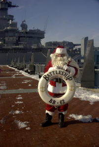 Breakfast with Santa on the Battleship @ Battleship New Jersey  | Camden | New Jersey | United States