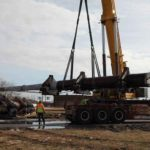 Historic Battleship's Giant Gun Barrels Moving to New Homes