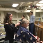 Free Haircuts for Vols & Staff in Battleship's Barber Shop