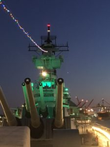 Wear Green this Weekend for St. Patrick's Day and Get 20% off a Tour @ Battleship New Jersey