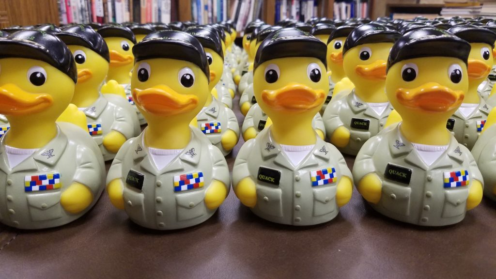 Battleship S Inaugural Captain Quack Rubber Duck Race