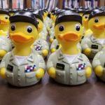 Battleship's Inaugural Captain Quack Rubber Duck Race