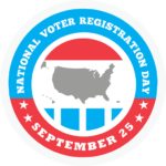 Sept. 25 is National Register to Vote Day