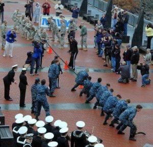 Patriot Games: Army vs. Navy Tug-of-War at the Battleship @ Battleship New Jersey   Camden   New Jersey   United States