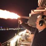 Rexel Aboard the Battleship New Jersey