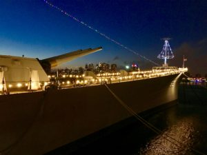 Merry Christmas! @ Battleship New Jersey