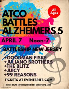 Atco Battleship Alzheimer's on the Battleship @ Battleship New Jersey