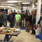 Battleship Crew Enjoys King Cake from WWII Museum