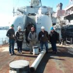 Battleship Claims Artifacts and Equipment from Navy Yard Tour