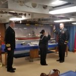 Battleship Hosts Navy Re-Enlistment Ceremony