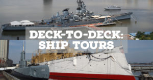 Battleship & Independence Seaport Museum's Deck to Deck Tours @ Independence Seaport Museum/Battleship New Jersey