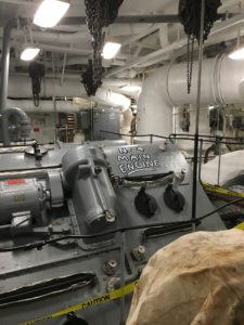 Battleship to Open Steam to Speed Engineering Tour on Sat., April 20 @ Battleship New Jersey