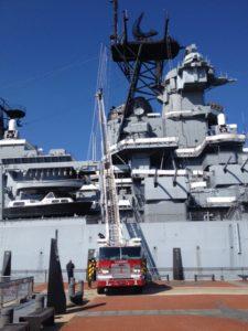 Camden Public Service Day @ Battleship New Jersey
