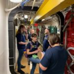 Drexel Students Test Communication Devices Aboard the Battleship