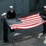 Flag Day Aboard the Battleship