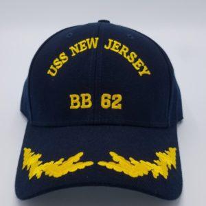 Battleship New Jersey T-Shirt w/ Ship Image - Battleship New