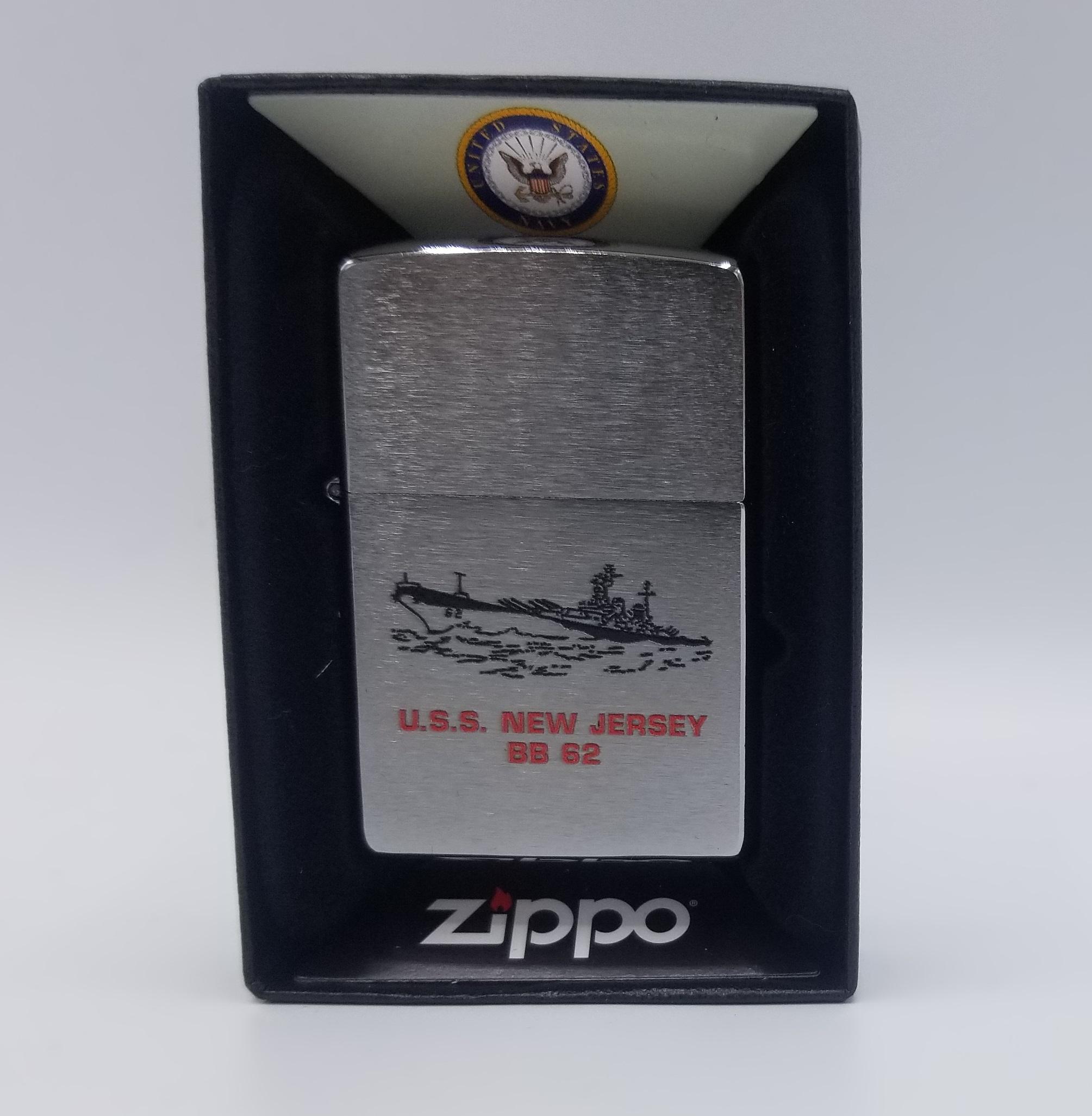 USS New Jersey Zippo Lighter