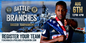 Battle of the Branches Futsol Tournament Aboard the Battleship @ Battleship New Jersey