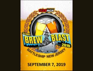WMGK 2019 Brew Blast on the Battleship @ Battleship New Jersey