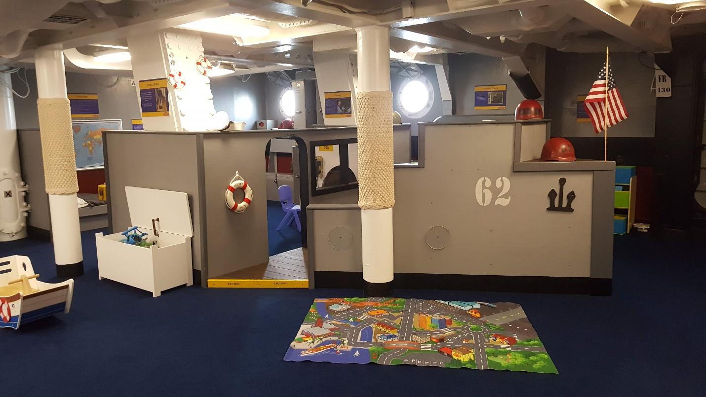 Kids Kompartment playroom.