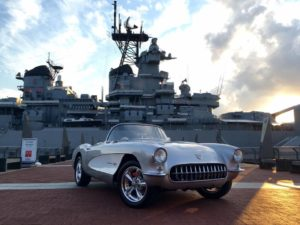 Veterans Car Show at the Battleship @ Battleship New Jersey