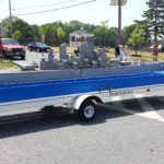 Battleship Model Sails into Philly Veterans Parade