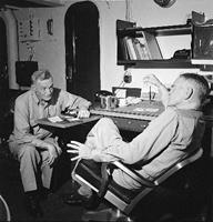 Touch History:  Admirals @ Battleship New Jersey