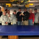 Battleship Salutes Gloucester Co. Garrison 52 for their Donation!