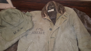 Hands On History Features Foul Weather Gear for January @ Battleship New Jersey