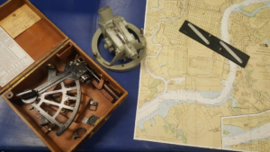 Building History in January:  Navigation @ Battleship New Jersey