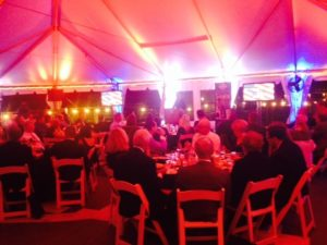 Event dining on the Battleship New Jersey