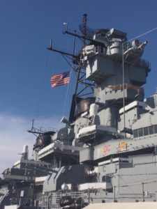 Fly a Flag Above the Battleship @ Battleship New Jersey