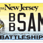 NJ Drivers: Show Your Support for the Battleship