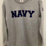 Look Good in a Navy Long Sleeve T-Shirt